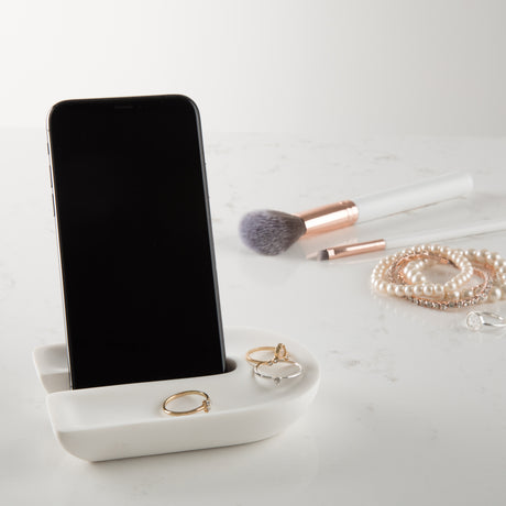 Phone Stand And Accessories Tray