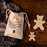 Personalised Bedtime Story Bear Father's Day Gift Set