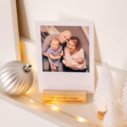 Personalised Family Photo A Day Advent Calendar