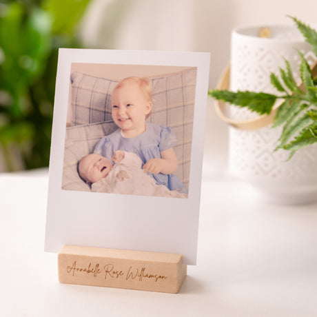 Personalised Mother's Day Photo Block