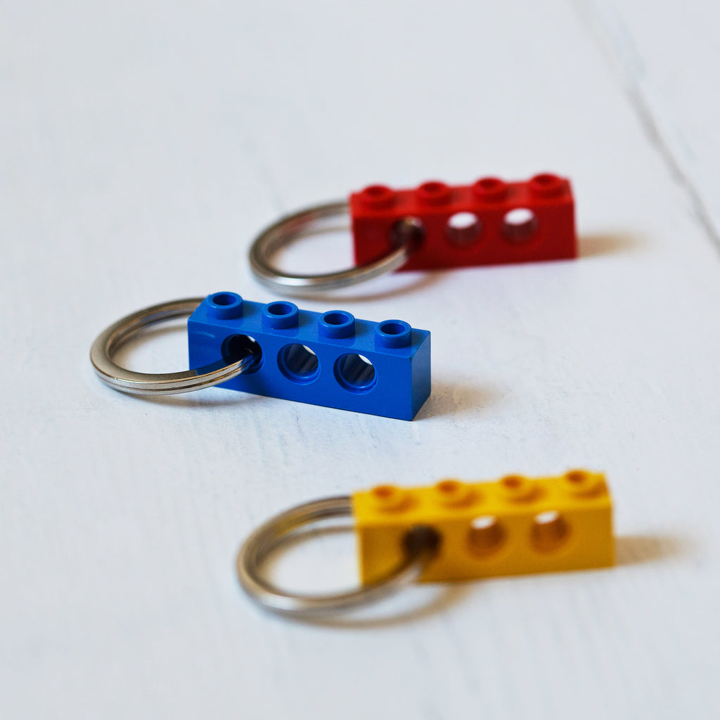 Building Block Key Ring
