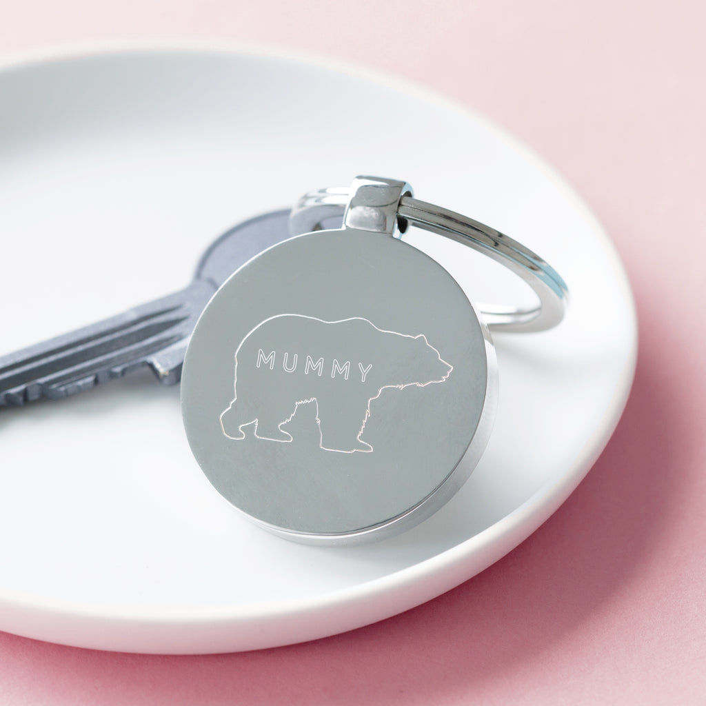 Mummy Bear Mother's Day Keyring