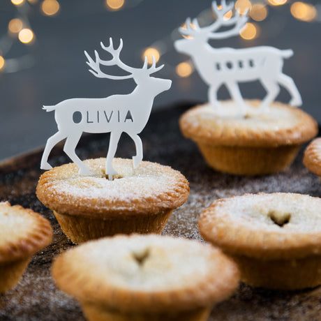 Personalised Arctic Animal Mince Pie Toppers & Christmas | Twenty-Seven
