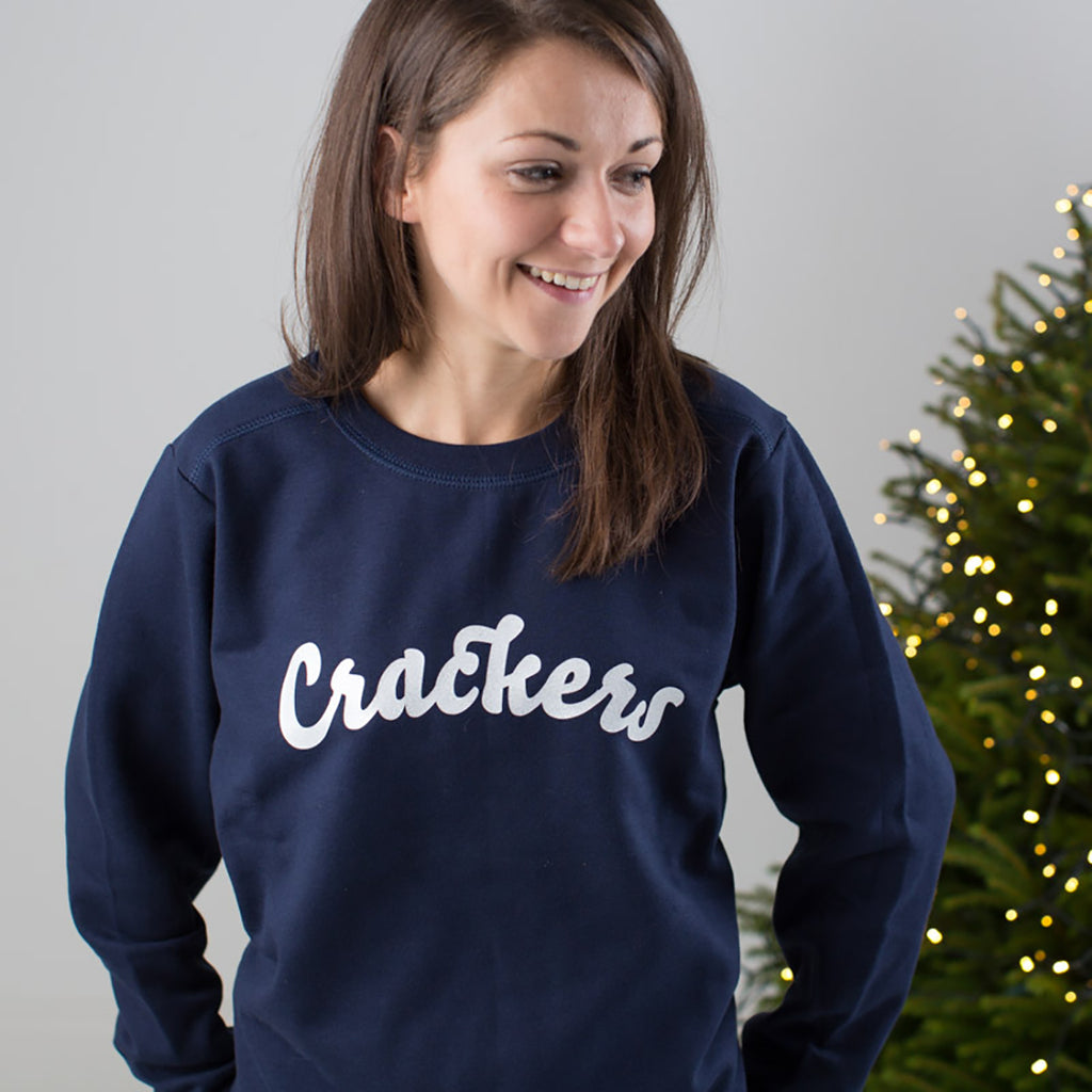 Crackers Christmas Jumper