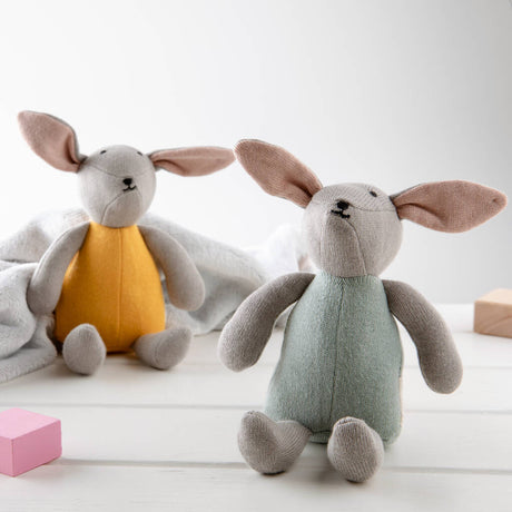 Organic Cotton Bunny Toy