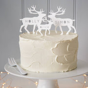 Personalised Arctic Animal Cake Toppers