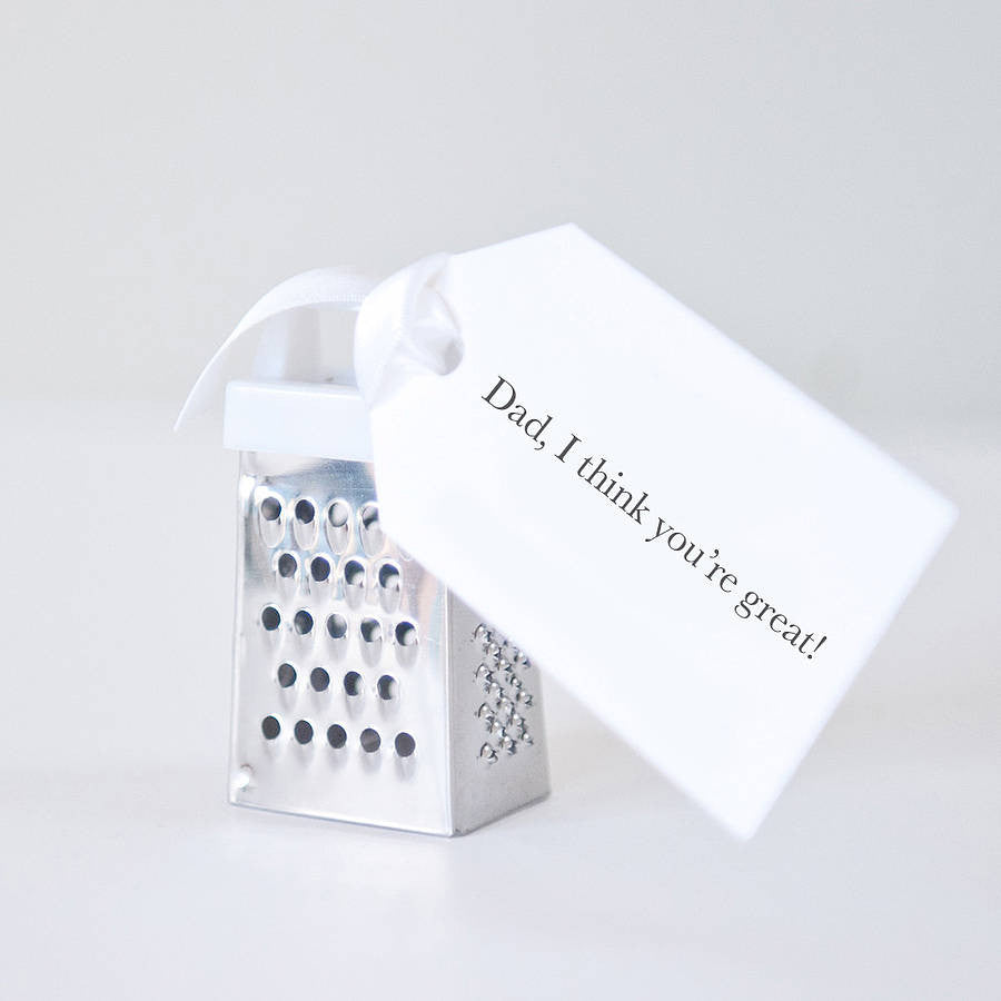 You're Great Dad Father's Day Mini Grater
