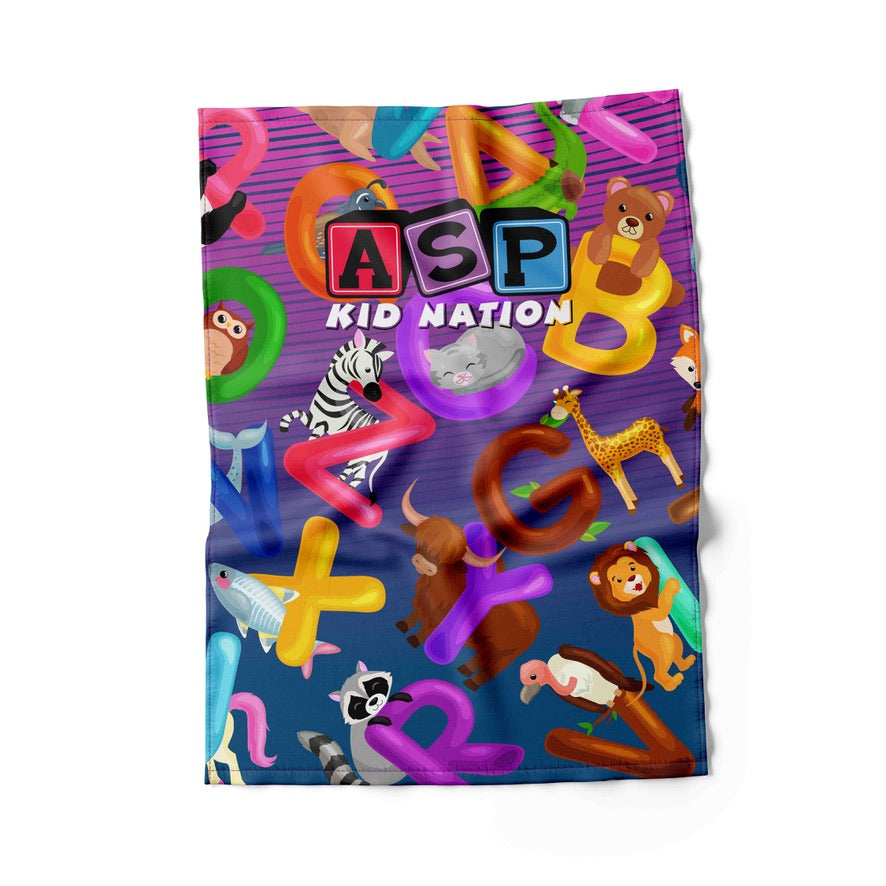 ASP Kid Nation ABC Towel