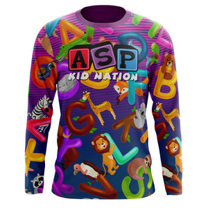 ASP Kid Nation ABC Long Sleeve