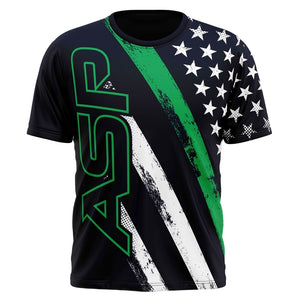 ASP Thin Green Line Series Short Sleeve