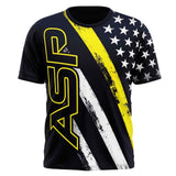 ASP Thin Yellow Line Series Short Sleeve