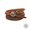 Wrap Rugged Leather Bracelet