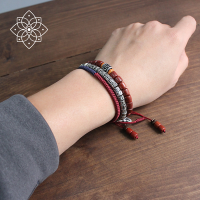 Sound of Silence - the Tibetan bracelet