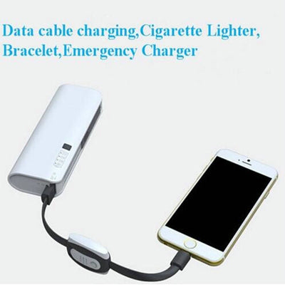 4 in 1 Emergency Charging Cable Bracelet