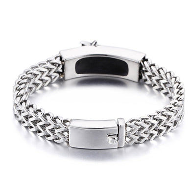 Freemason - Steel Braid Bracelet