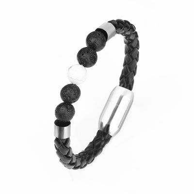 Rock And Gems - Howlite Bead Bracelet