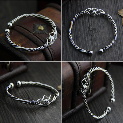 Lust Worthy Silver Bangle
