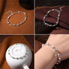 Silver Stars and Planets Bracelet