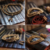 The Easeful 108 Wenge beads Mala
