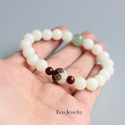 Bodhi Seeds Bracelet for Love and Peace