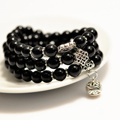 Black Obsidian Bracelet Of Protection