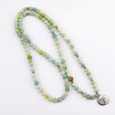 Amazonite Energy Prayer Beads