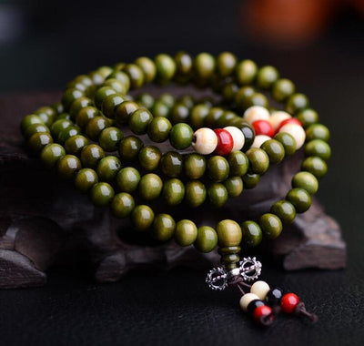 Physical & Spiritual Healing - Rosewood Prayer Beads