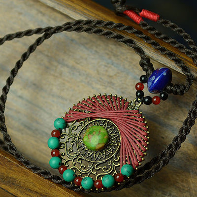 Bella Luna Tibetan Handmade Necklace