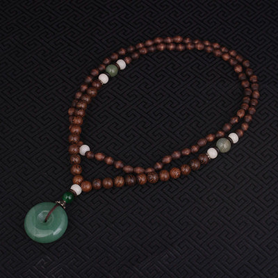 Graceful Royal Sandalwood Necklace