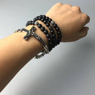 Night King Cross Bracelet