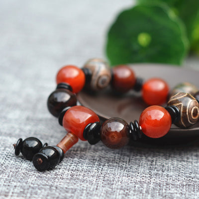 Natural Agate Bracelet for Long and Happy Life