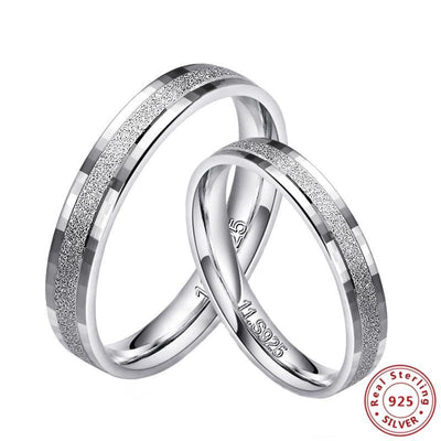 My Destiny - Silver Couple Ring