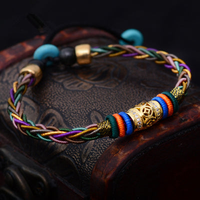 Colorful Sai Sin Bracelet
