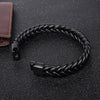 Past to Present Leather Bracelet