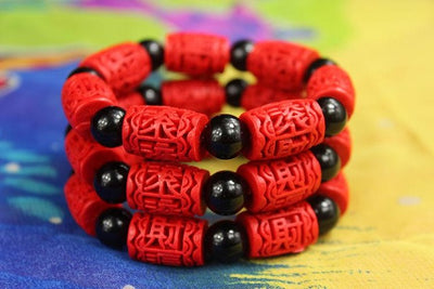 Red Cinnabar For Wealth And Luck