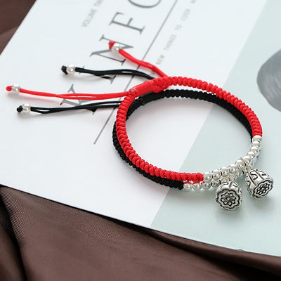 Silver Lotus Lucky Rope