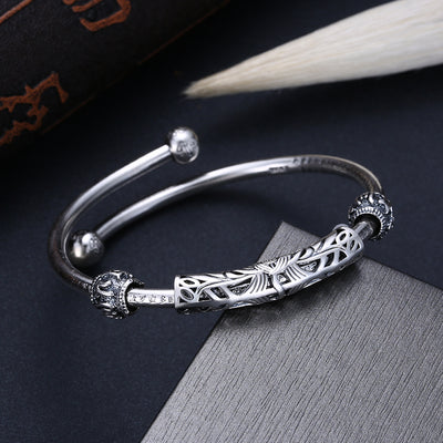 Time to Shine – Silver Cuff Bracelet