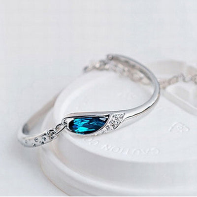 Crystal Drop Bracelet