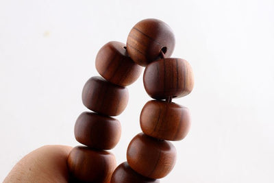 The Wooden Craft Mala Bracelet
