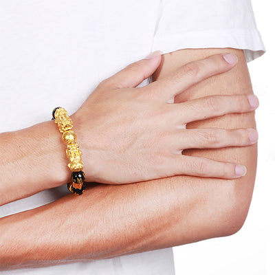 Wealth And Protection - The Pixiu Charm Bracelet