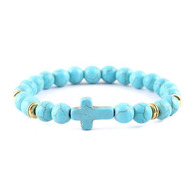 Faithful Cross Charm Bracelet
