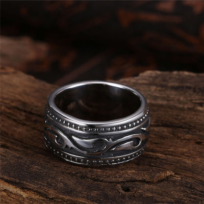 Titanium Geometric Ring