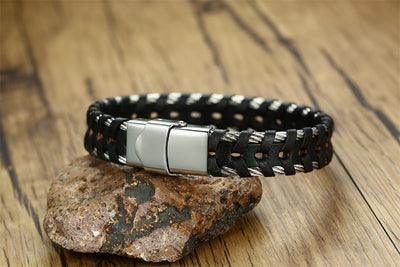 The Unstoppable Leather Bracelet