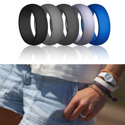 The Game Changer - Silicone Ring 7pcs/set