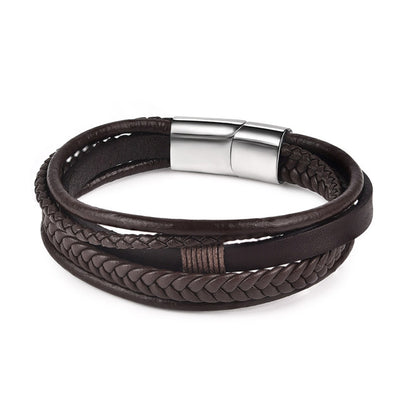The Chevron Classic Leather Bracelet