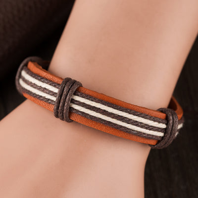 Surfer Tribal Multi Wrap Bracelet