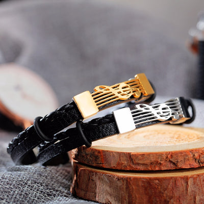 The Melody Leather Bracelet
