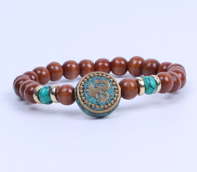 The OM malachite bracelet