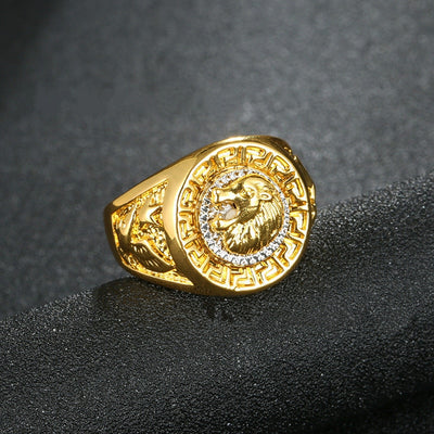 Lion Head Champion Ring