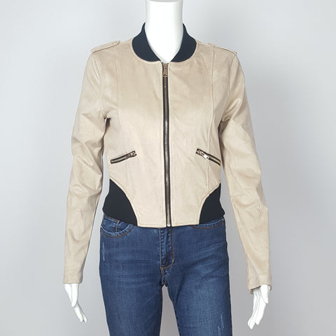 Women's Jacket Suede Blazer Jacket